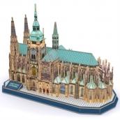 CubicFun Puzzle 3D Katedrála svatého Víta 193 dílků 39 x 20 x 29 cm