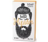 Somerset Toiletry Pan Hipster luxusní třikrát mleté toaletní mýdlo s bambuckým máslem a pikantní vůní pepře a zázvoru pro muže 200 g