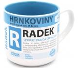 Nekupto Hrnkoviny Hrnek se jménem Radek 0,4 litru