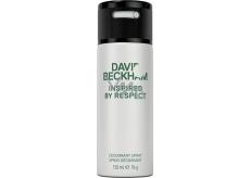 David Beckham Inspired by Respect deodorant sprej pro muže 150 ml