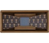 Bohemia Gifts Dřevěný motýlek Sportsman 12,5 cm