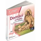 Albi Kouzelné čtení interaktivní minikniha Domácí zvířata, věk 2+