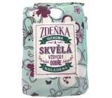 Albi Skládací taška na zip do kabelky se jménem Zdeňka 42 x 41 x 11 cm