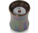 WoodWick Floral Nights Dark Poppy - Tmavý mák vonná svíčka s dřevěným knotem a víčkem sklo střední 275 g Limited 2019
