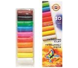 Koh-i-Noor Školní modelovací hmota Motýl 10 barev po 20 g