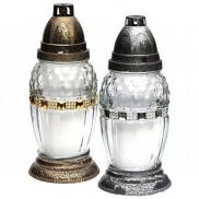 Rolchem Lampa skleněná střední 20 cm 28 hodin 65 g Z06 1 kus