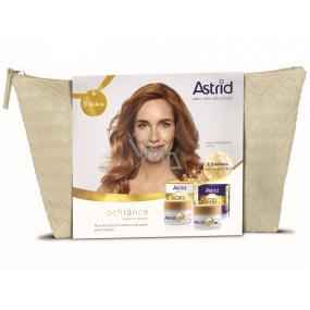 Astrid Q10 Miracle denní krém proti vráskám 50 ml + noční krém proti vráskám 50 ml + etue, kosmetická sada