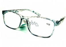 Berkeley Čtecí dioptrické brýle +3,0 plast průhledné černé tečky 1 kus MC2181