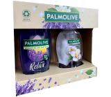 Palmolive Memories of Nature Sunset Relax sprchový gel 250 ml + Magic Softness Jasmine 250 ml, kosmetická sada
