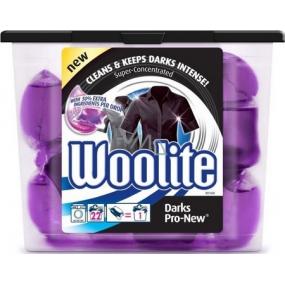 Woolite Dark Pro-New gelové kapsle na tmavé prádlo 22 x 24 ml