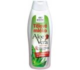 Bione Cosmetics Bio Aloe Vera s lískooříškovou bílkovinou tělové mléko 500 ml