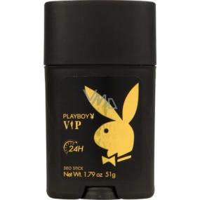 Playboy Vip for Him antiperspirant deodorant stick pro muže 51 g
