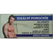 Bohemia Gifts & Cosmetics Ideální pomocník čokoláda dárková 100 g