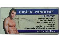 Bohemia Gifts & Cosmetics Mléčná čokoláda Ideální pomocník, dárková 100 g
