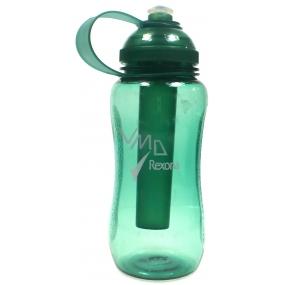 Rexona Sportovní plastová láhev s chladící vložkou zelená 500 ml