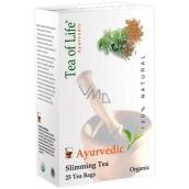 Tea of Life Slimming Tea ajurvédský bio čaj na hubnutí 25 x 2 g