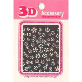 Nail Accessory 3D nálepky na nehty 10100 M-13 1 aršík
