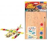 Puzzle dopravní prostředky Letadlo 20 x 15 cm
