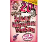 Nekupto Stírací přání k narozeninám Kámašútra 20 G 20 3336 21,5 x 13,5 cm