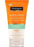 Neutrogena Visibly Clear Spot Proofing 2v1 čisticí emulze a maska 150 ml