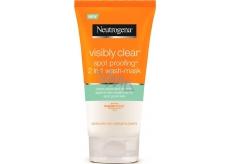 Neutrogena Visibly Clear Spot Proofing 2v1 čistící emulze a maska 150 ml