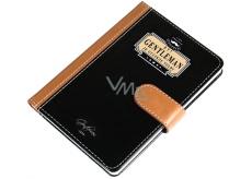 Nekupto Liga Pravých Gentlemanů Luxusní zápisník Být Gentleman je otázkou volby 10,5 x 15 x 1,5 cm