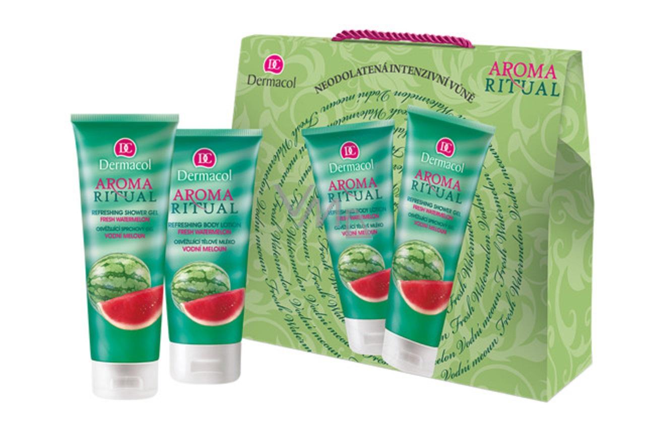 Dermacol Aroma Ritual Wassermelonen Duschgel 250ml + Körpermilch 200ml, Kosmetikset