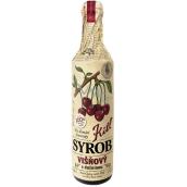 Kitl Syrob Bio Višeň s dužinou sirup pro domácí limonády, obsahuje 100% ovocného podílu 500 ml
