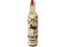 Kitl Syrob Bio Višňový s dužinou sirup pro domácí limonády, obsahuje 100% ovocného podílu 500 ml