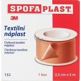 3M Spofaplast 132 cívková textilní náplast 2,5 cm x 5 m