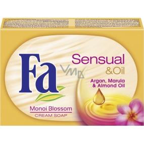 Fa Sensual & Oil Monoi Blossom toaletní mýdlo 100 g