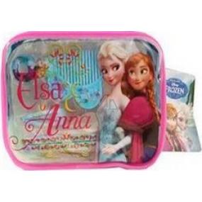 Disney Frozen Elsa a Anna sponky 2 kusy + gumičky do vlasů 2 kusy + mini hřebínek 1 kus + etue, dárková sada