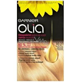 Garnier Olia barva na vlasy bez amoniaku 10.21 Perleťová velmi světlá blond