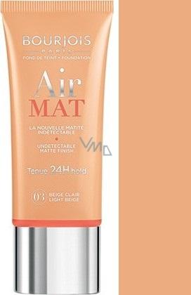 Bourjois Air Mat Foundation zmatňující make-up 03 Light Beige 30 ml