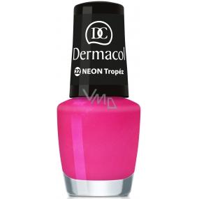 Dermacol Neon Polish Neonový lak na nehty 22 Tropéz 5 ml