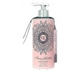 Vivian Gray Aroma Selection Lotus & Rose luxusní tekuté mýdlo s dávkovačem 400 ml