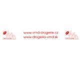 VMD Lepicí páska balicí, bílá, 48 mm x 66 m