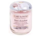 Heart & Home Pravé okouzlení Sojová vonná svíčka střední hoří až 30 hodin 110 g