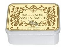 Le Blanc Ambre - Ambra přírodní mýdlo tuhé v krabičce 100 g