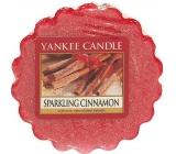 Yankee Candle Sparkling Cinnamon - Třpytivá skořice vonný vosk do aromalampy 22 g