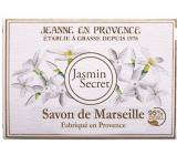 Jeanne en Provence Jasmin Secret - Tajemství Jasmínu tuhé toaletní mýdlo 100 g