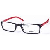 Berkeley Čtecí dioptrické brýle +3,5 černé červené stranice 1 kus MC2 ER4045