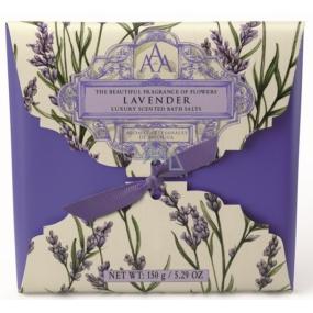 Somerset Toiletry Lavender - Levandule uvolňující vonná koupelová sůl s relaxační vůní levandule 150 g