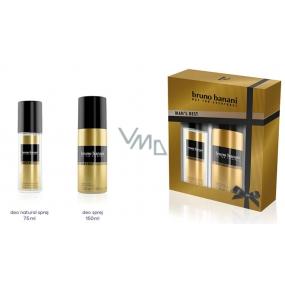 Bruno Banani Best parfémovaný deodorant sklo pro muže 75 ml + deodorant sprej 150 ml, kosmetická sada