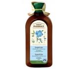 Green Pharmacy Heřmánek a Lněný olej šampon pro barvené a melírované vlasy 350 ml