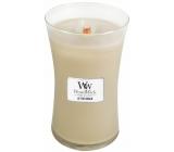 WoodWick At the Beach - Na pláži vonná svíčka s dřevěným knotem a víčkem sklo velká 609,5 g