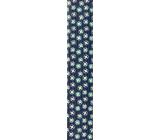 Ditipo Dárkový balicí papír 70 x 200 cm Modrý s kolečky