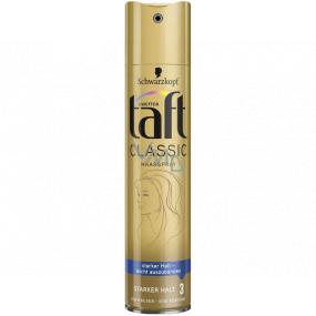 Taft Classic silná fixace 3 lak na vlasy 250 ml