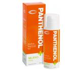 Topvet Panthenol + Mléko 11% regeneruje spálenou, podrážděnou a rozpraskanou pokožku 200 ml