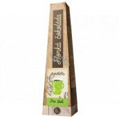 Bohemia Gifts Horká extra jemná výběrová mléčná čokoláda Pro štěstí 30 g